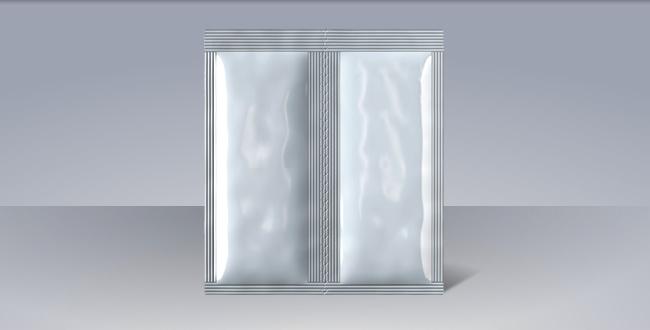 Foto doppia busta a quattro lati con perforazione